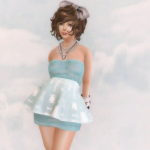 #04 1mm Peplum Dress